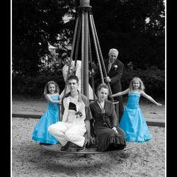 Familie Bruidsfoto