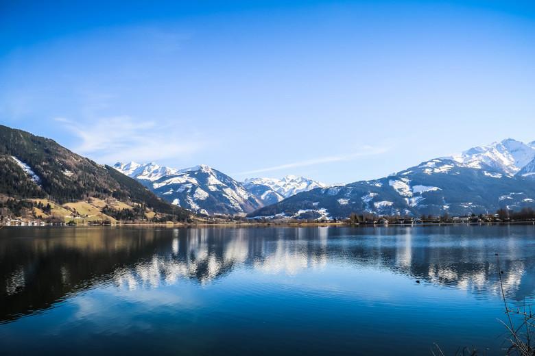 Zell am See - Eind maart Zell am See