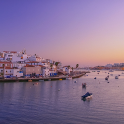 Ferragudo algarve portugal 2018