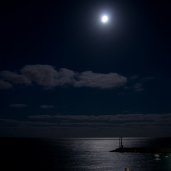avond aan zee