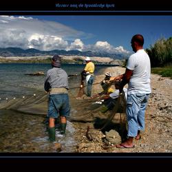 Kroatische vissers