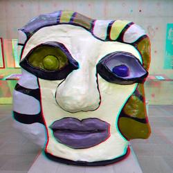 Sculpture by  Niki de Saint Phalle 3D