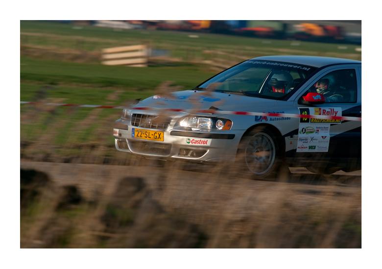 Volvo S60 T5 achter het riet -