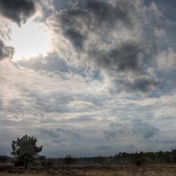Drunense Duinen - wolkenpartij