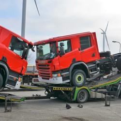 Scania's laden