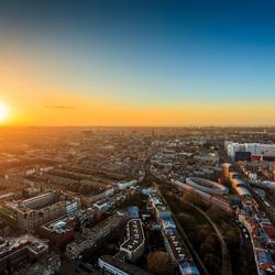 Zonsondergang Den Haag