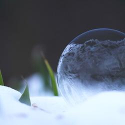Bellen blazen in de winter