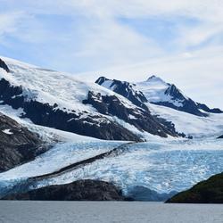 Glacier Portage Lake