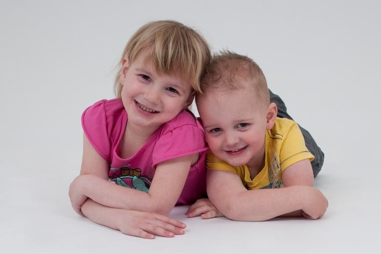 Anne & Yuri - Als eerste een foto van mijn kinderen
