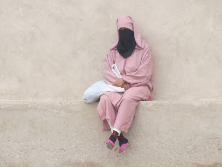 Islam vrouw in Marokko -