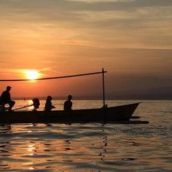 zonsopgang op Bali
