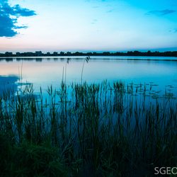 Blue hour at Zegerplas