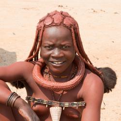 Himba-meisje