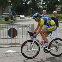 Dames wielerwedstrijd Gouden Pijl Emmen