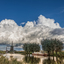 Wolkenlucht en molen
