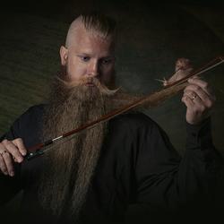 My violin beard