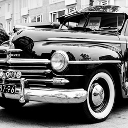 Plymouth oldtimer