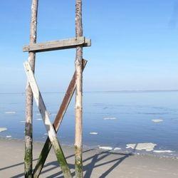 Vertrek personen boot van Texel vs Vlieland