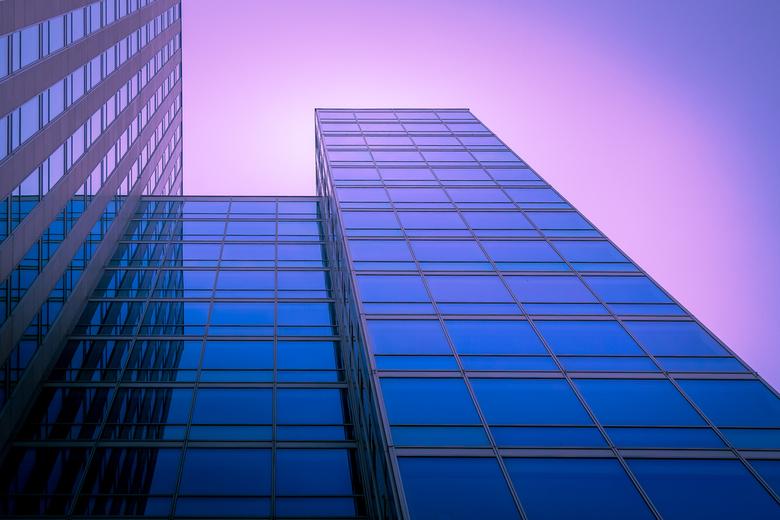 Almere in blue & purple  -