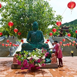 Temple in Phu Quoc