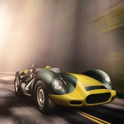 Jaguar Lister 'Knobbly