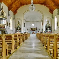 Kerkje in Zwitserland.