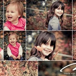 Kinderen in de herfst