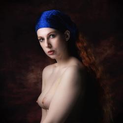 het meisje met de blauwe haarband