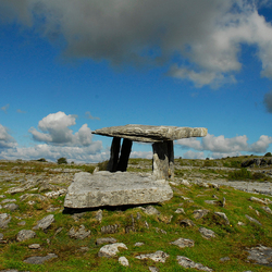 portal tomb the burren