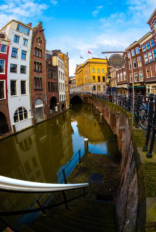 Utrecht op nieuwjaarsdag -