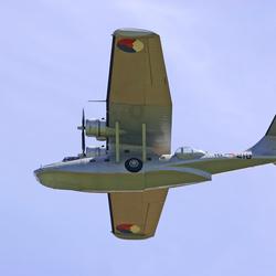 Catalina op Texel airshow