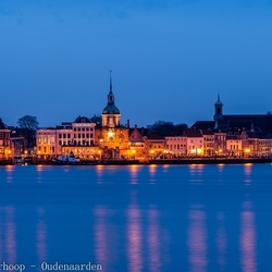 The blue hour over Dordrecht