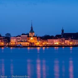 The blue hour over Dordrecht