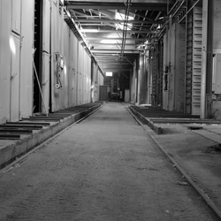 verlaten steenfabriek