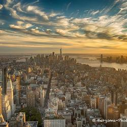 Empire State tussen Golden en Blue hour