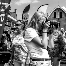 Fotograaf in beeld