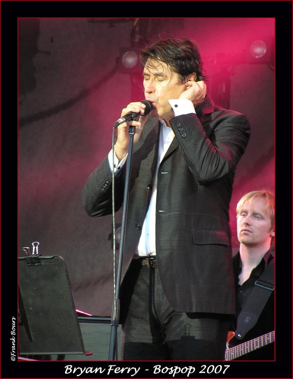 Bospop 12 - Bryan Ferry van de band Roxy Music gezien op bospop in 2006