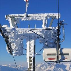 frozen lift