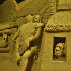 Zandsculpturenfestival in Zuidlaren.