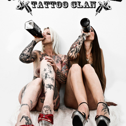 White Trash tattoo clan babes