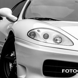 Ferrari 360 Modena close up