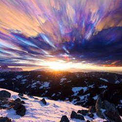 Sunset palette