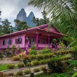 Local house in Tioman, Malaysia