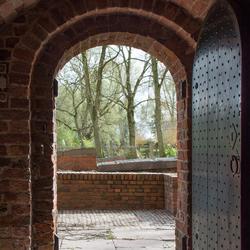 Portaal Sebastiaankerk Bierum