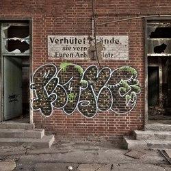 Slachthuis Ex DDR, Duitsland, verlaten gebouw