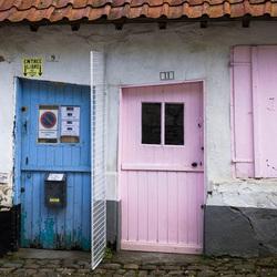 Roze en Blauw