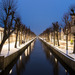 Balk in wintersferen