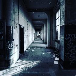 Hallway to hell.