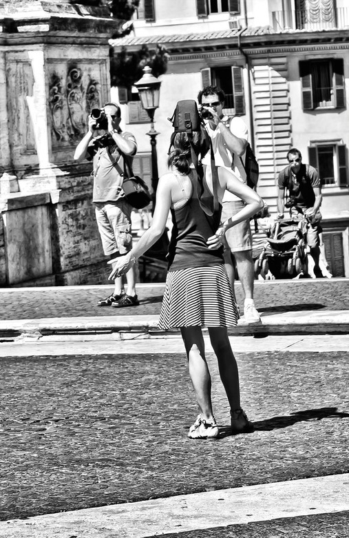 HOT Day in Rome