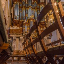 Vater/Müller-orgel - Oude Kerk, Amsterdam